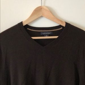 Banana Republic Men's Medium Dark Brown Sweater